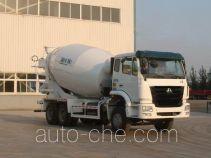 豪瀚牌ZZ5255GJBN4346D1型混凝土搅拌运输车