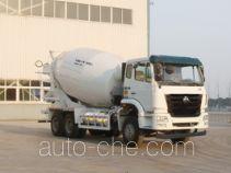 豪瀚牌ZZ5255GJBN4346E1L型混凝土搅拌运输车