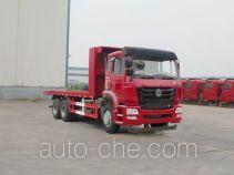 豪瀚牌ZZ5255TPBM4046D1型平板运输车
