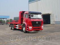 豪瀚牌ZZ5255TPBM4346D1型平板运输车