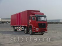 豪瀚牌ZZ5255XXYM56C3E1L型厢式运输车