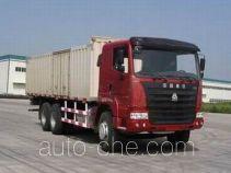 豪运牌ZZ5255XXYN4645C型厢式运输车