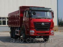 豪瀚牌ZZ5255ZLJN3846C1型自卸式垃圾车
