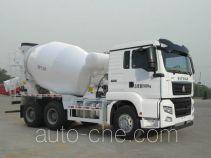 汕德卡牌ZZ5256GJBV434MD1型混凝土搅拌运输车
