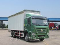 Sinotruk Howo ZZ5257CPYM5847D1 soft top box van truck