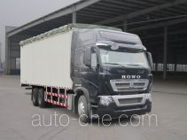 Sinotruk Howo ZZ5257CPYN584MD1 soft top box van truck