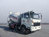 豪沃牌ZZ5257GJBH27CCD1型混凝土搅拌运输车