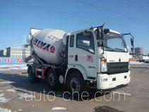 豪沃牌ZZ5257GJBH27CCE1型混凝土搅拌运输车