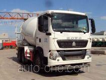 豪沃牌ZZ5257GJBN324GE1型混凝土搅拌运输车