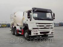 豪沃牌ZZ5257GJBN3647E1型混凝土搅拌运输车