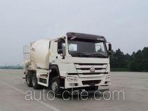 豪沃牌ZZ5257GJBN3847D1型混凝土搅拌运输车