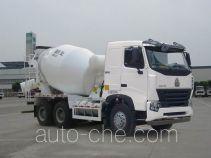 豪沃牌ZZ5257GJBN3847Q1L型混凝土搅拌运输车