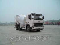 豪沃牌ZZ5257GJBN4047P1型混凝土搅拌运输车
