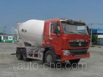 汕德卡牌ZZ5257GJBN404HD1型混凝土搅拌运输车