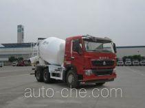 豪沃牌ZZ5257GJBN404HD1型混凝土搅拌运输车