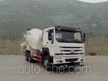 豪沃牌ZZ5257GJBN4347E1型混凝土搅拌运输车