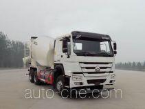 豪沃牌ZZ5257GJBN4347E1L型混凝土搅拌运输车
