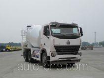 豪沃牌ZZ5257GJBN4347Q1L型混凝土搅拌运输车