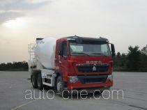 豪沃牌ZZ5257GJBN434HD1型混凝土搅拌运输车