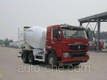 豪沃牌ZZ5257GJBV364HD1型混凝土搅拌运输车