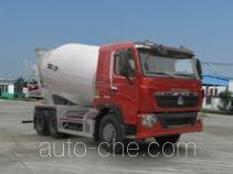 汕德卡牌ZZ5257GJBV384HD1型混凝土搅拌运输车