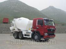 豪沃牌ZZ5257GJBV384HD1型混凝土搅拌运输车