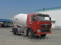 汕德卡牌ZZ5257GJBV404HD1型混凝土搅拌运输车