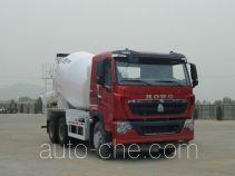 豪沃牌ZZ5257GJBV434HD1型混凝土搅拌运输车