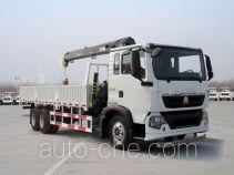 Sinotruk Howo ZZ5257JSQM584GD1 truck mounted loader crane