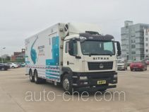 Sinotruk Sitrak ZZ5266XYLN524GE1 medical vehicle
