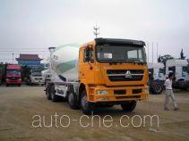 斯达-斯太尔牌ZZ5313GJBN3661D1L型混凝土搅拌运输车