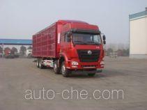豪瀚牌ZZ5315CCQN4666E1C型畜禽运输车