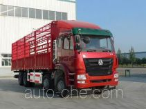 豪瀚牌ZZ5315CCYN4666E1C型仓栅式运输车
