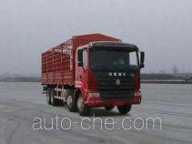 豪运牌ZZ5315CLXN3865C1型仓栅式运输车