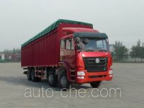 豪瀚牌ZZ5315CPYK4763C1型蓬式运输车