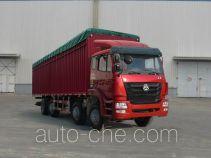 豪瀚牌ZZ5315CPYK47G3C1型蓬式运输车