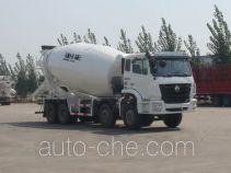 豪瀚牌ZZ5315GJBM3666C1型混凝土搅拌运输车