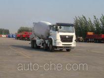 豪瀚牌ZZ5315GJBN3063D1型混凝土搅拌运输车