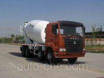 豪运牌ZZ5315GJBN3265C型混凝土搅拌运输车