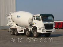 豪瀚牌ZZ5315GJBN3266D1型混凝土搅拌运输车