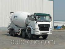 豪瀚牌ZZ5315GJBN3666D1型混凝土搅拌运输车