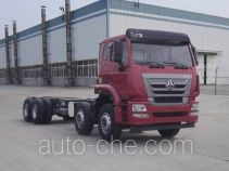 Sinotruk Hohan ZZ5315JSQN4266E1 шасси грузовика с краном-манипулятором (КМУ)