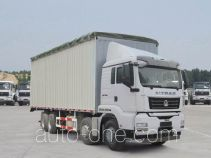 Sinotruk Sitrak ZZ5316CPYN386MD1 soft top box van truck