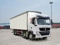 Sinotruk Howo ZZ5317CPYM386GC1 soft top box van truck