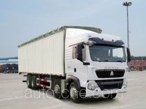 Sinotruk Howo ZZ5317CPYM386GD1 soft top box van truck