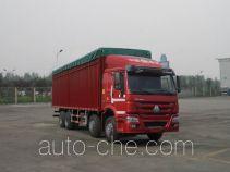 Sinotruk Howo ZZ5317CPYM4667D1H soft top box van truck