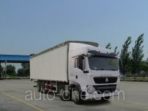 Sinotruk Howo ZZ5317CPYM466GD1 soft top box van truck