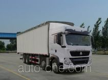 Sinotruk Howo ZZ5317CPYN386GD1 soft top box van truck