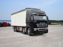 Sinotruk Howo ZZ5317CPYN466MD1B soft top box van truck