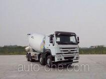 豪沃牌ZZ5317GJBN3667E1型混凝土搅拌运输车